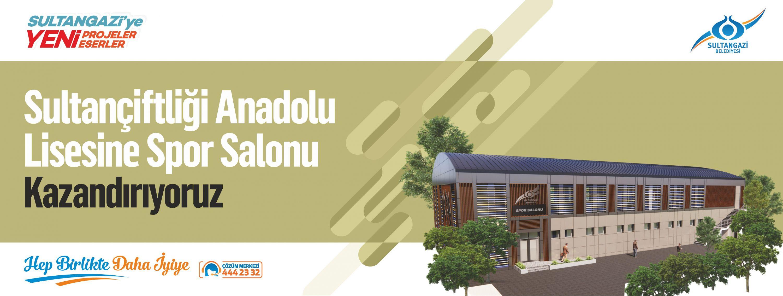 Sultançiftliği Anadolu Lisesi Spor Salonu